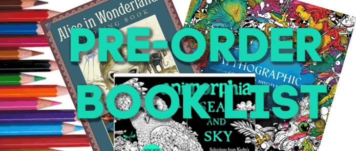Preorder Booklist
