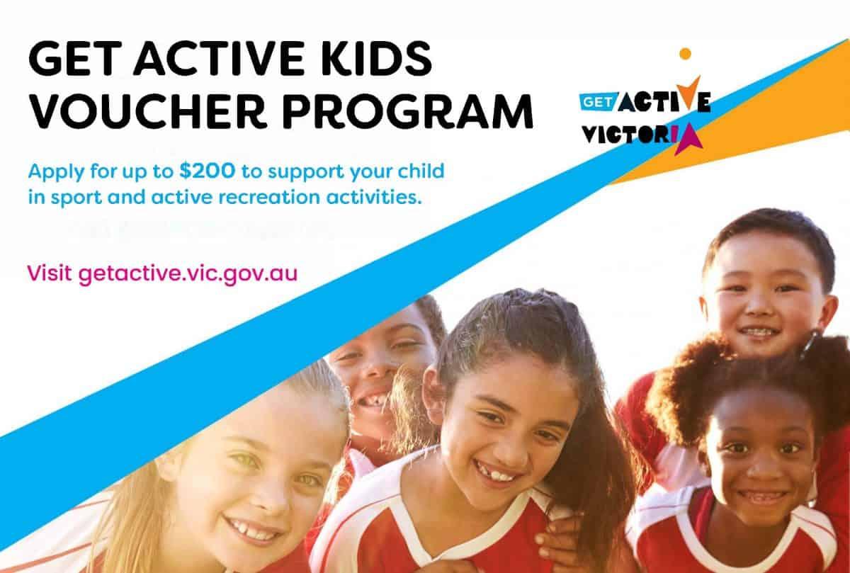 Get-Active-Kids-Voucher-Program-Poster